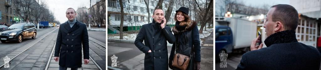 Пошив дизайнерского модного двубортного пальто для Романа, утепленное.